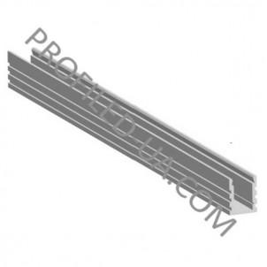 Профиль для светодиодной ленты накладной 31205